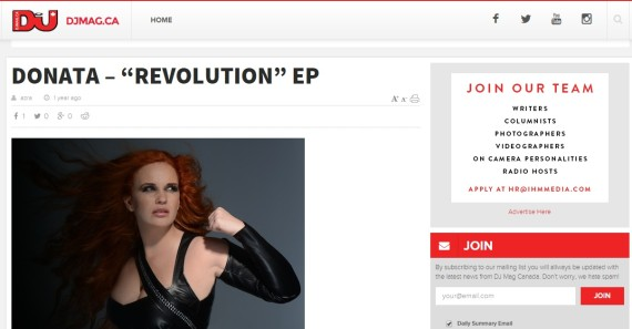 DJ Mag Canada www.edmpr.com