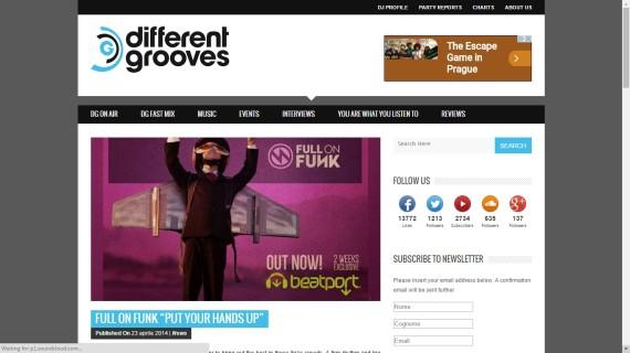 Different Grooves EDM PR