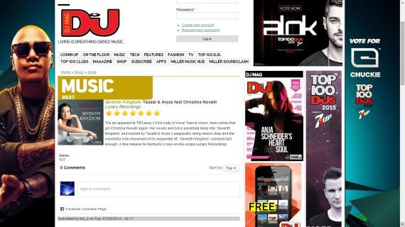 DJ MAG EDM PR www.dancemusicpr.com