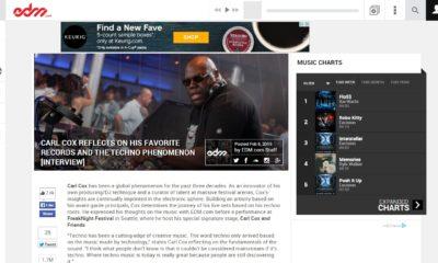 Carl Cox interview edm.com